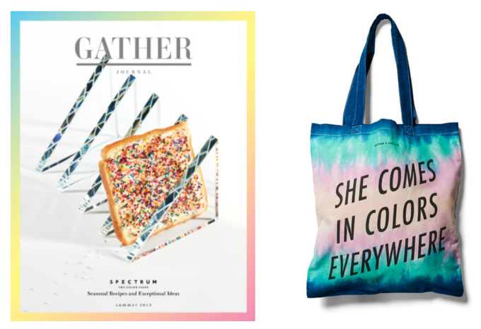 Gather Journal, issue 7 and special edition tote
