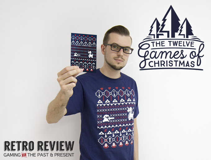 It's Dangerous to go Alone This Christmas Card & Shirt Reward