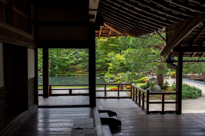 Tenryuji-Tempel