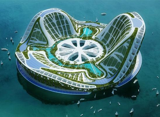 Project Lilypad by Vincent Callebaut