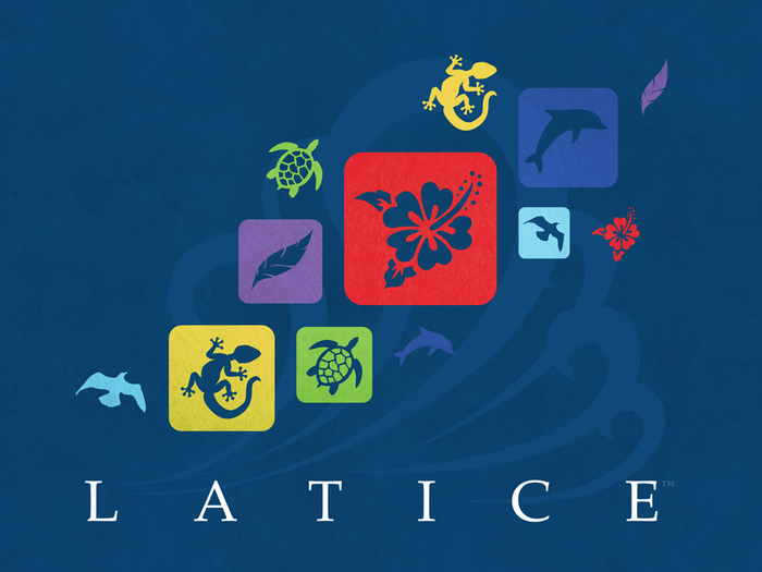 LATICE is a family- and adult-friendly abstract strategy game. 3 minutes to learn, 20 minutes to play, and a lifetime to master.