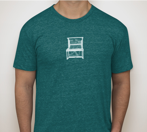 Vintage tri-blend tee so soft you'll never want to take it off!