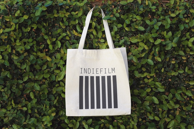 INDIE FILM TOTE // For all your important AGENT stuff, or groceries.