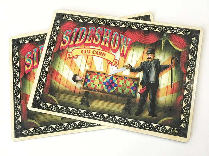 """JUST ADDED! Full color Sideshow metal """"cut"""" card!!!"""