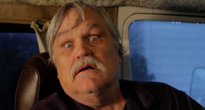 Col. Bruce Hampton, Ret. as Mr. Lives in his Van