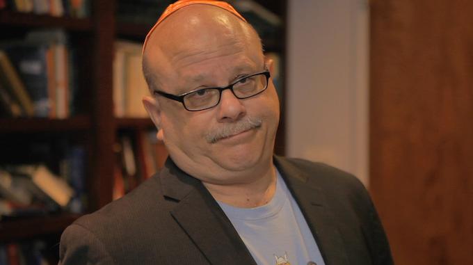 Rabbi Steven Lebow as Rabbi Spiderman
