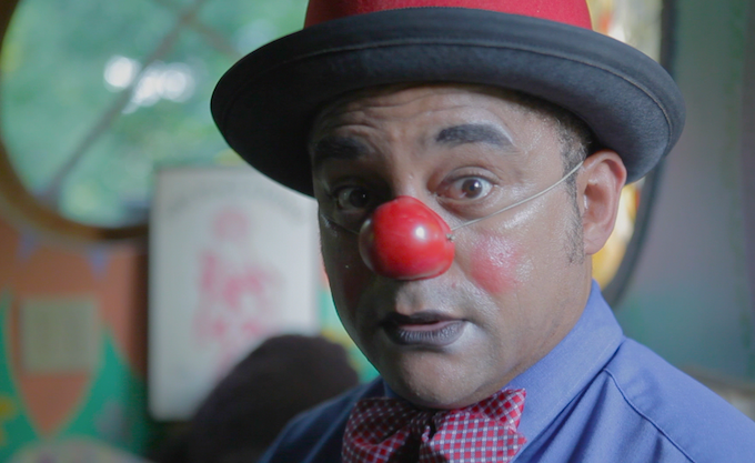 Meredith Gordon as Mr. Angry Clown
