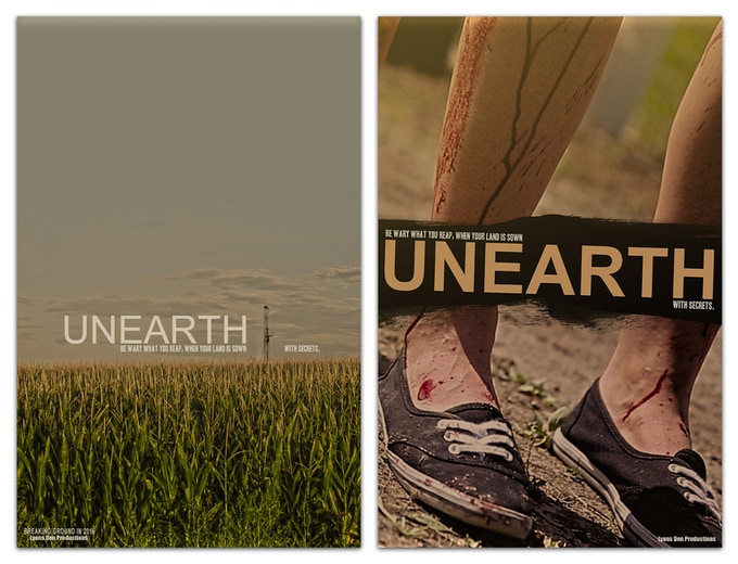 """Unearth"" Posters by Mark Kosobucki"