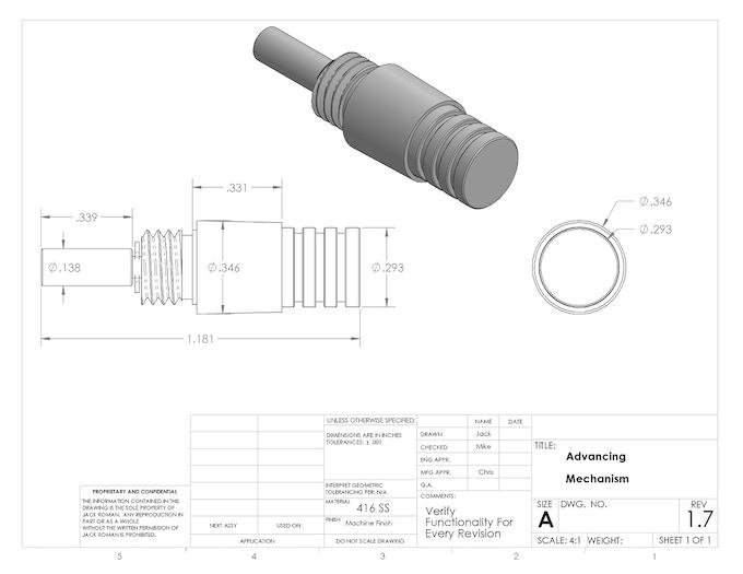 416SS Mechanism Print
