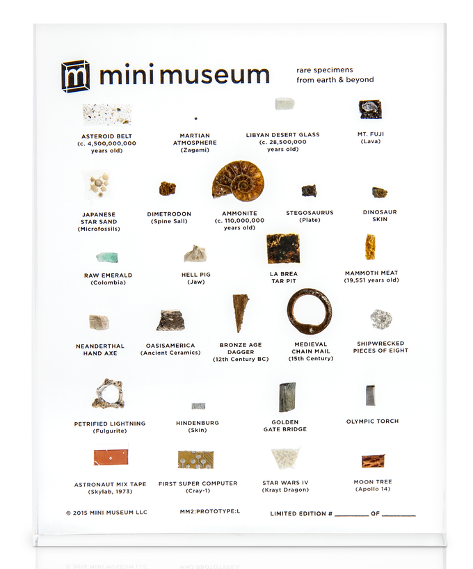 The Second Edition of the Mini Museum (Prototype)