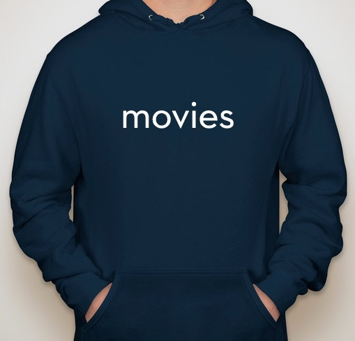 the movies sweatshirt (ringspun poly/cotton blend)