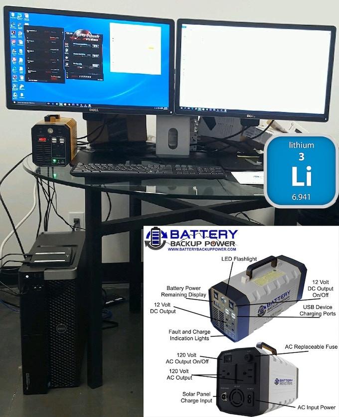 Lithium Uninterruptible Power Supply Mode