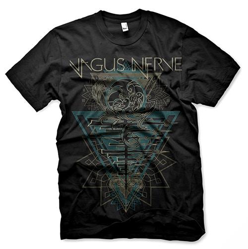 Vagus Nerve T-shirt designed by Gustavo Sazes
