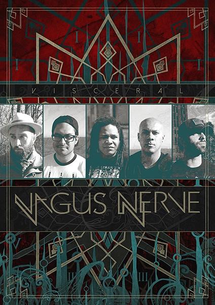 11X17 Vagus Nerve Poster Designed by Gustavo Sazes