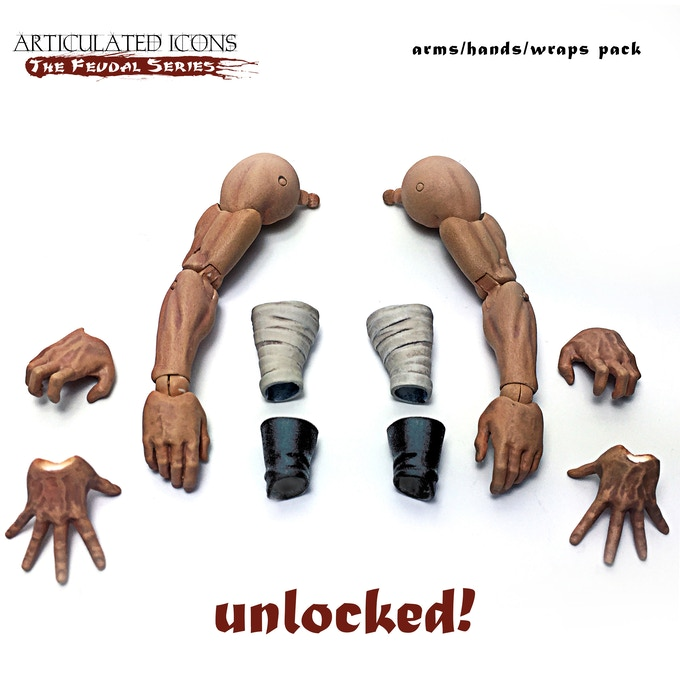 arms/hands/wraps pack