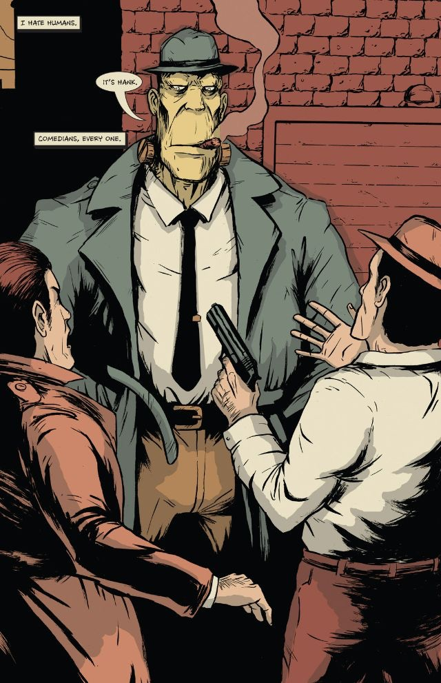 Tyler Sowles' Hank Steiner: Monster Detective