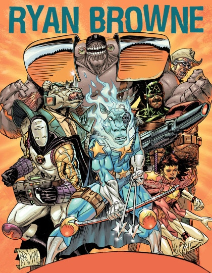 Ryan Browne's God Hates Astronauts