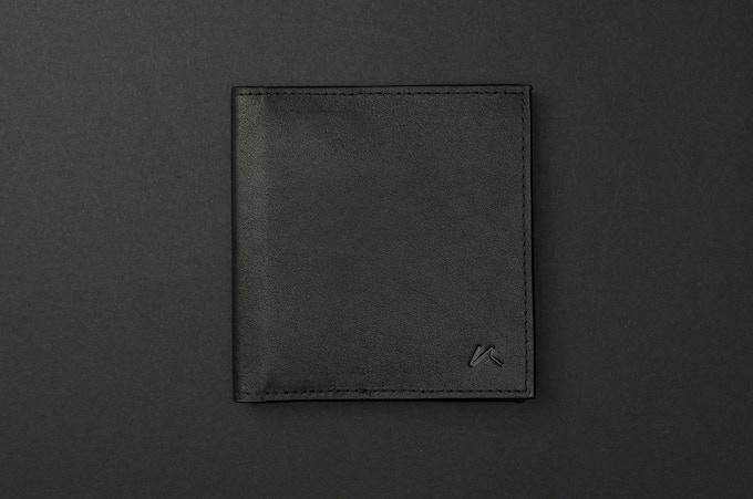 Aki in Black Full Grain Leather
