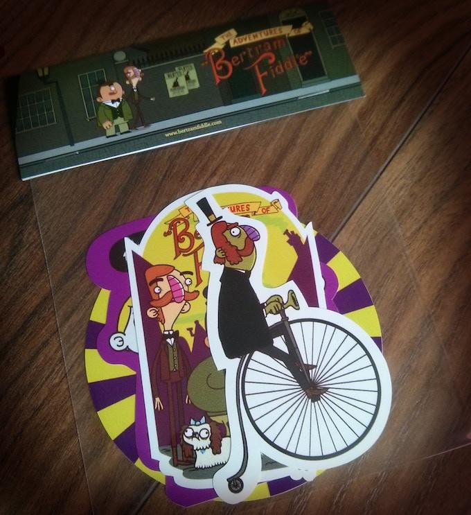 Bertram Fiddle Sticker Pack