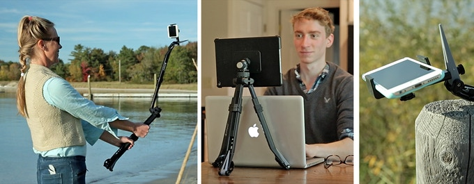 For smartphone and tablet users: A couple of more ways to use a Pakpod.