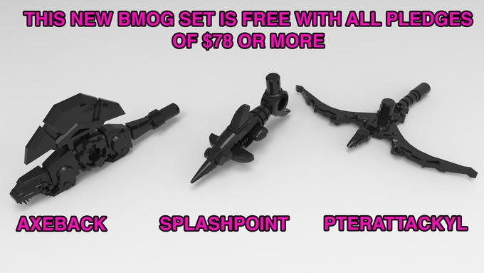 Free with your pledge of $78 or more!