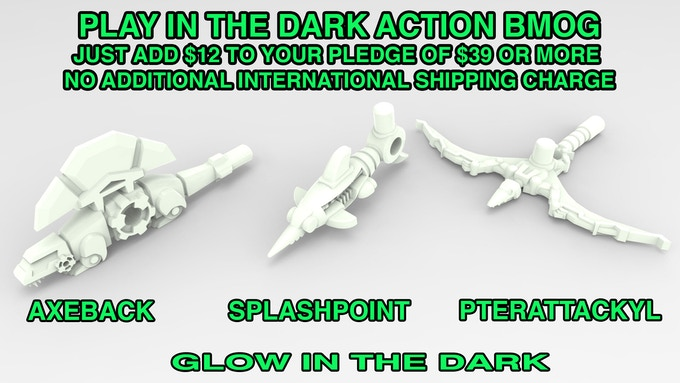 Just add $12 to your pledge to receive this GITD set!