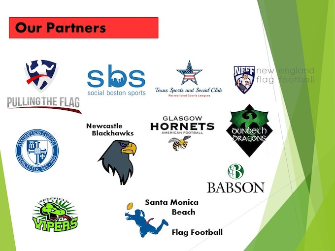 AfterDark testers include some of the biggest flag football leagues in the U.S. and Europe