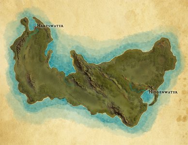 Map of Agador, work in progress