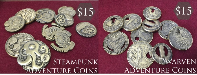 Adventure Coins also from Norse Foundry!
