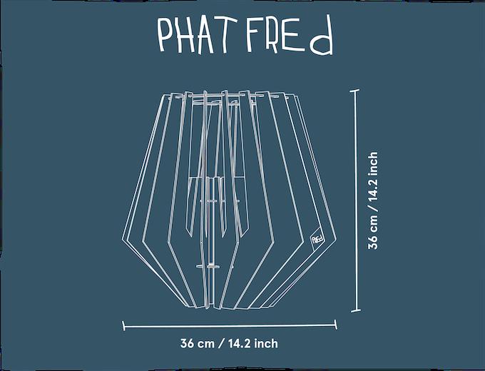 Dimensions (LxWxH): 36x36x36 cm, 14.2x14.2x14.2 inch