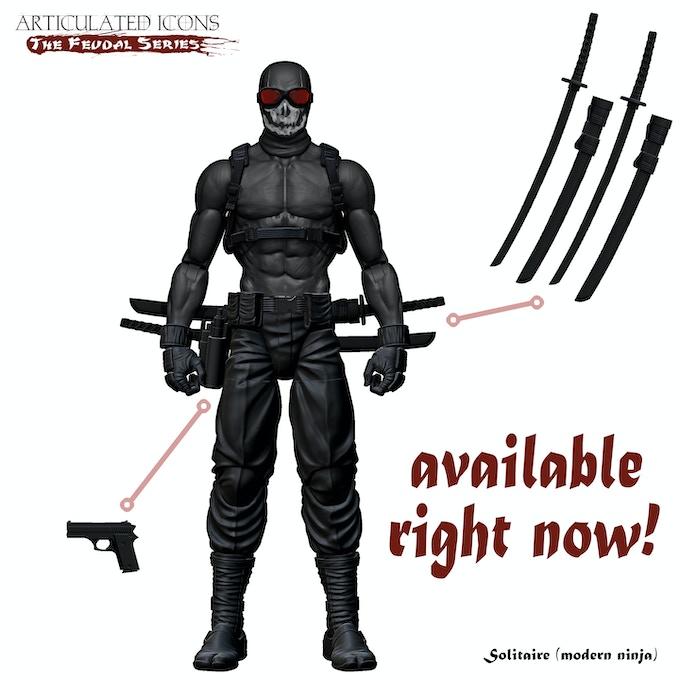 Solitaire (modern ninja)