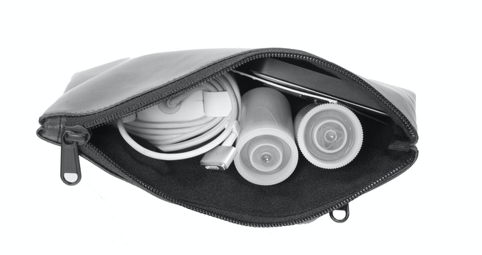 Fleece lined to snuggle your valuables.