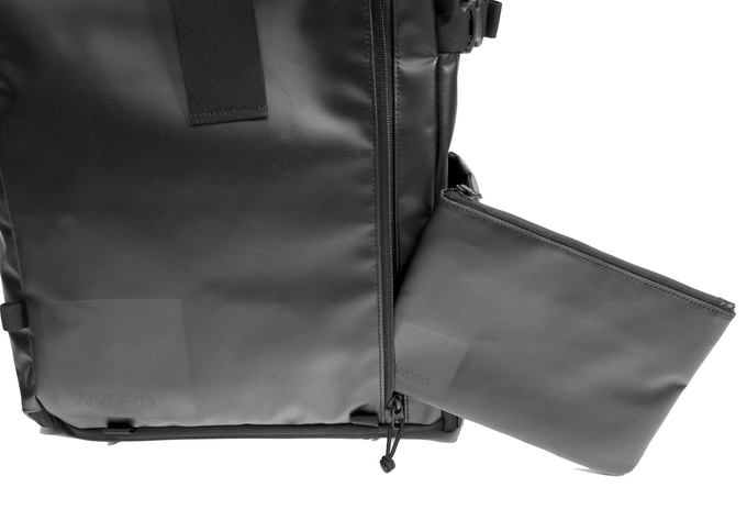 It was designed to fit perfectly inside the front pocket of the PRVKE Pack, but of course you can use it anywhere.