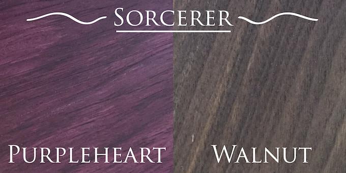 Base woods for Sorcerer and higher reward levels