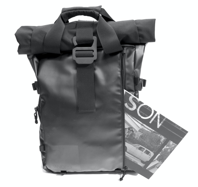 The front pocket is a catch all– great for magazines, documents, cords, and the WANDRD Pouch.