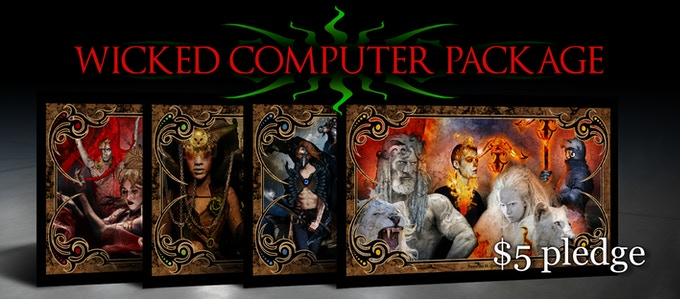 WICKED COMPUTER PACKAGE 1 WALLPAPER $5