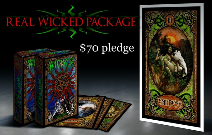 REAL WICKED PACKAGE $70
