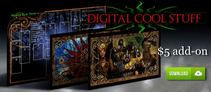 DIGITAL COOL STUFF ADD-ON! 2 HD WALLPAPERS AND THE SPREAD LAYOUT