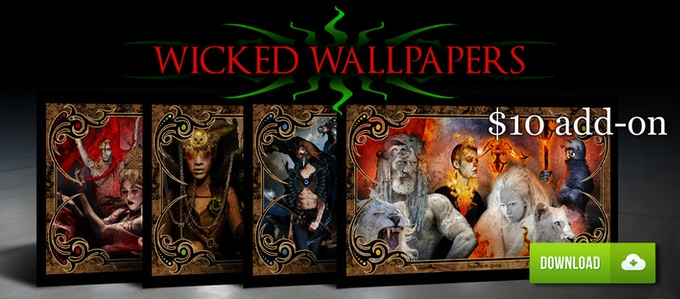 WICKED WALLPAPERS ADD-ON! ALL 4 $10