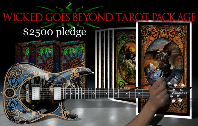 WICKED GOES BEYOND TAROT PACKAGE $2500