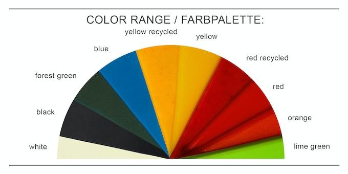FABRPALETTE - COLOR RANGE