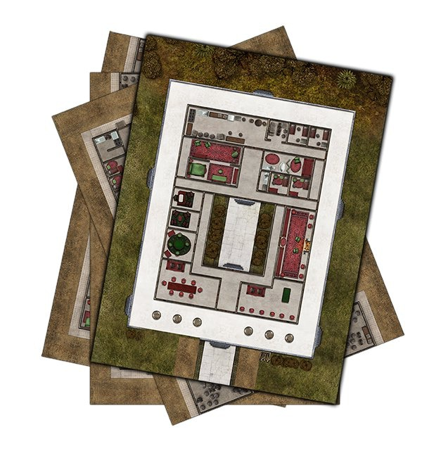 Check out these gorgeous maps from Deadlands Noir as an example of quality. Click on the image for a look at all our maps!