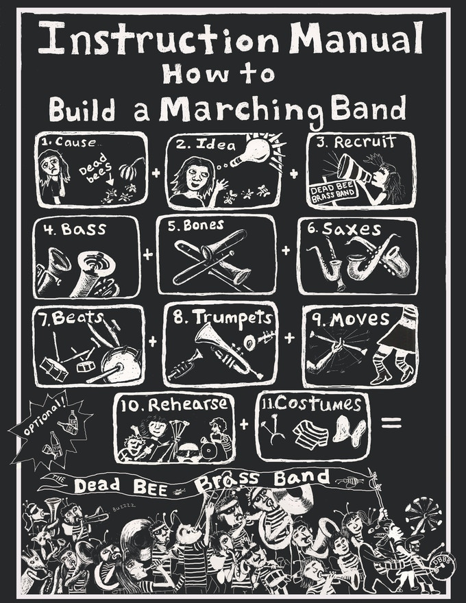 How to Make A Marching Band by Samantha Tsistinas