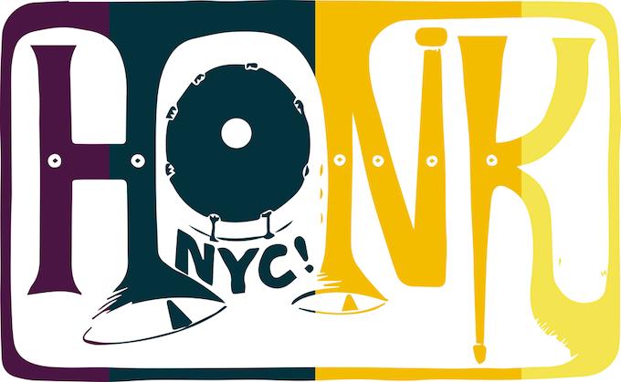HONK NYC! Logo 2015 by Samantha Tsistinas w/ Jenn Eakin