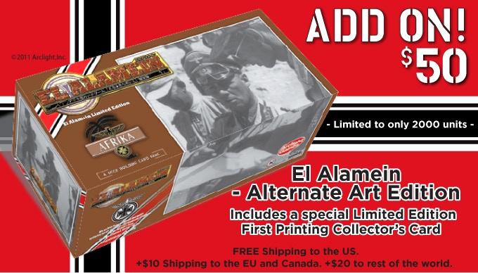 Alternate Art Stock Photo Edition- El Alamein