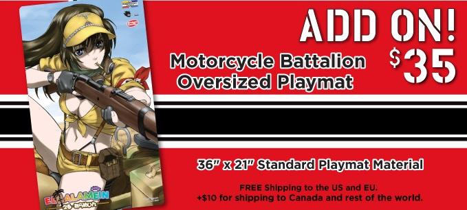 Motorcycle Battalion Oversized Playmat