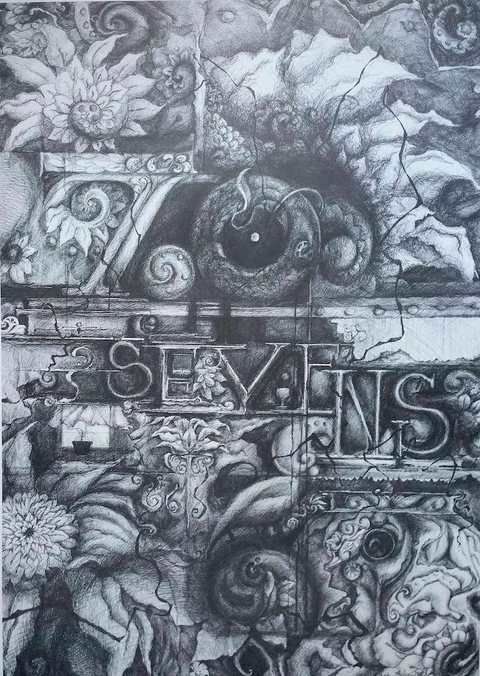 77s Poster by Kathryn Garcia