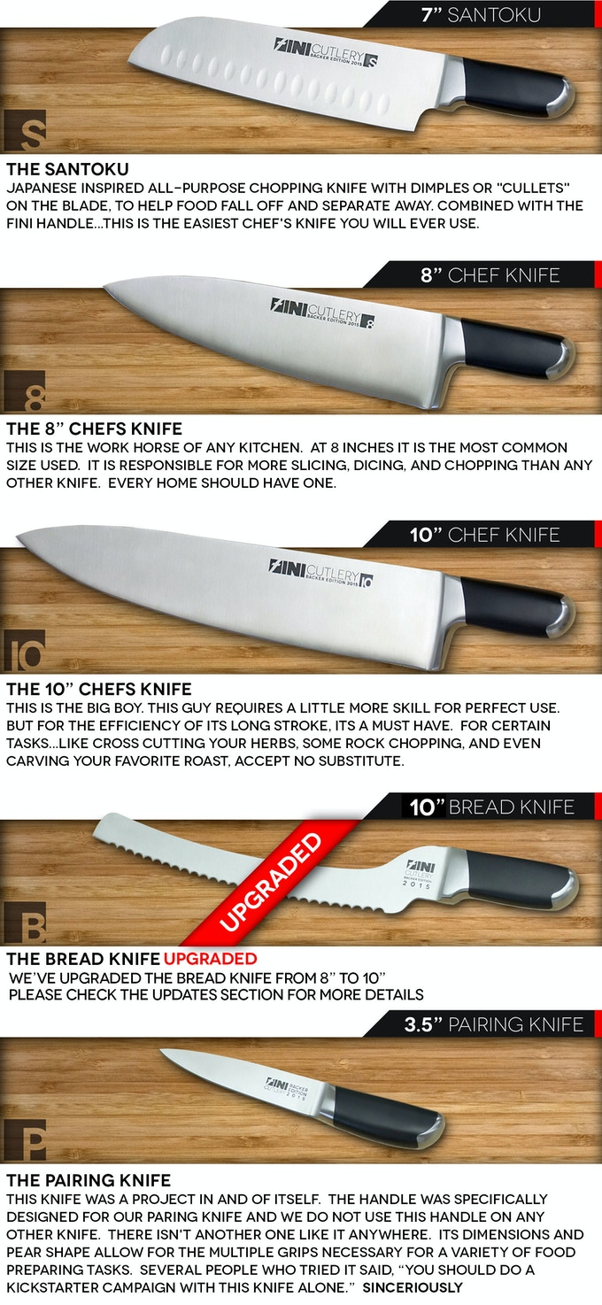 FINI Cutlery: Chef Invented. Knives Perfected. by FINI CUTLERY ...