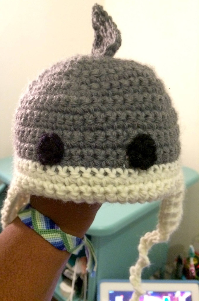 One of our many adorable shark rewards!
