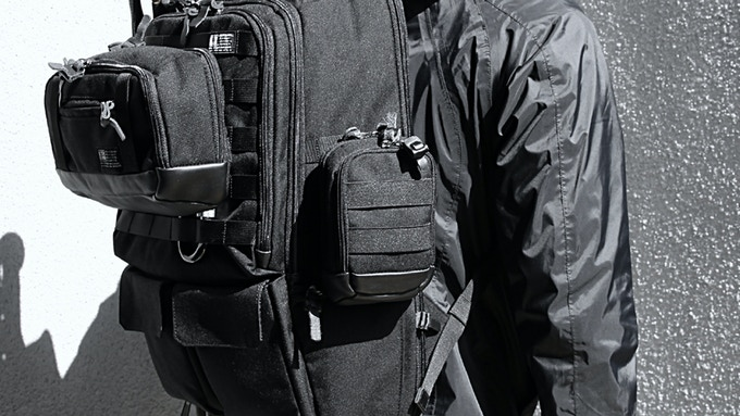 Medium Pouch can be also attached to the Tactical City Pack
